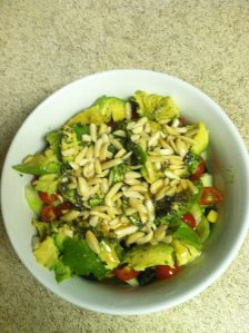 My lunch Salad.